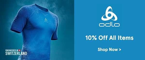 Odlo. 10 percent off all items. Shop Now