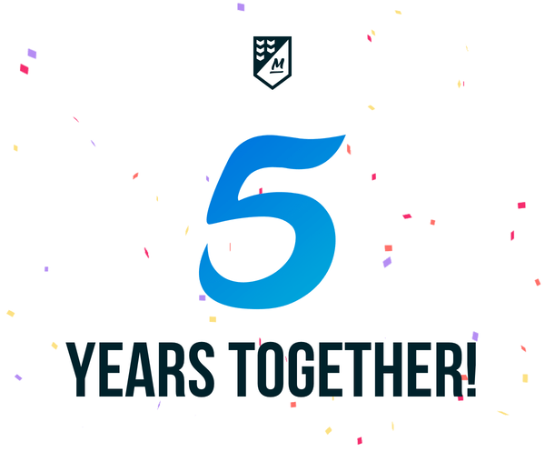 5 Years Together!