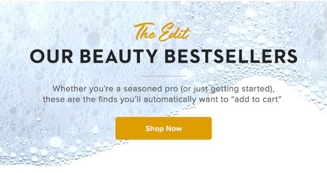 Our Beauty Bestsellers