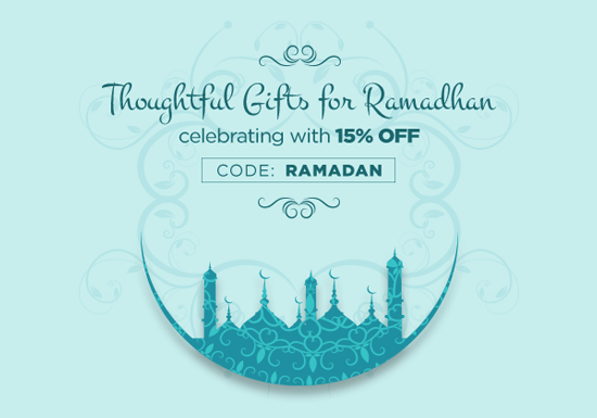 Thoughtful Gifts for Ramadan - 15% OFF
