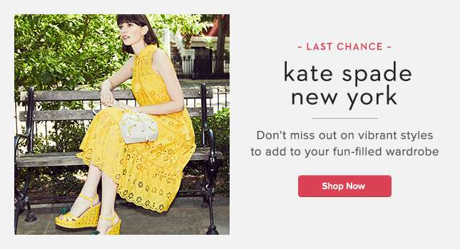 kate spade new york sale