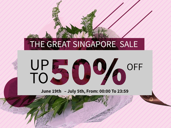 The Great Singapore Sale Discount Up To 50% OFF