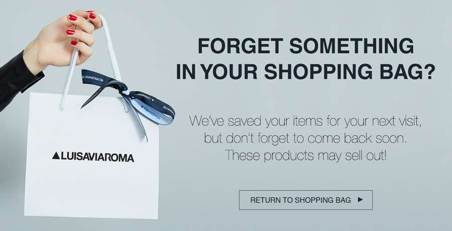 Forget something in your shopping bag?
