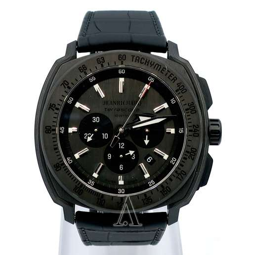Men's  JeanRichard Terrascope Chrono Carbon Watch