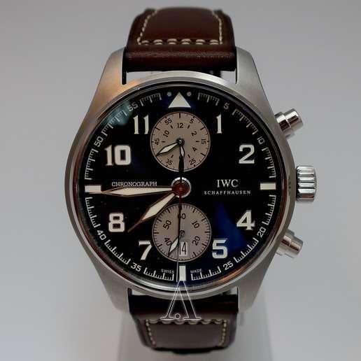 Men's  IWC Pilot's Watch Chronograph Saint Exupery Watch