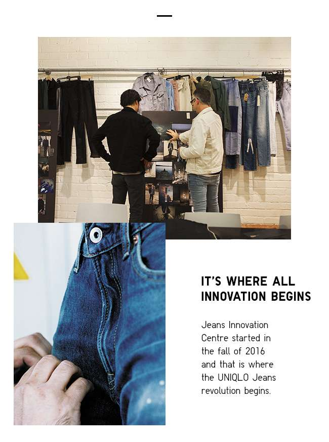 Jeans Innovation Centre | Where all innovation begins
