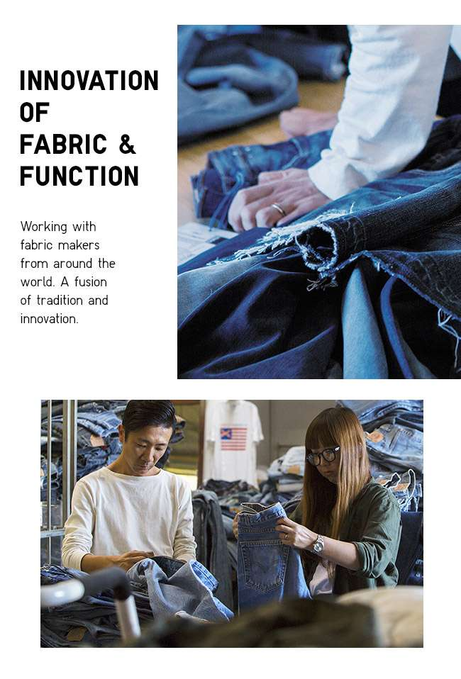 Innovation of Fabric & Function