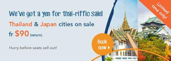 We've got a yen for thai-riffic sale!