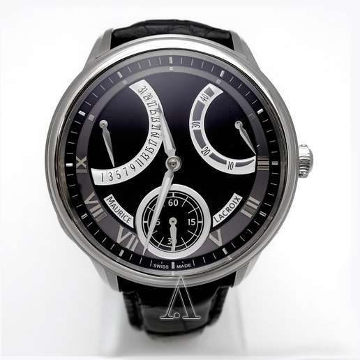 Men's  Maurice Lacroix Masterpiece Calendrier Retrograde Watch