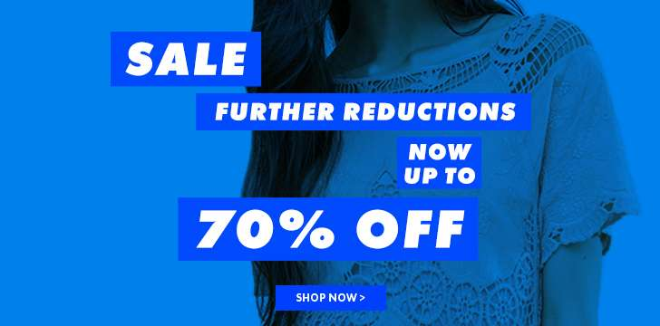 Now up to 70% off sale
