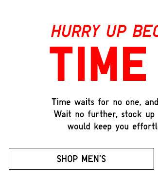 Shop Men's Limited Offers