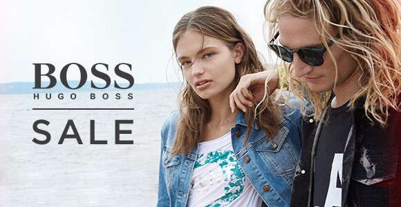 UP TO 50% OFF HUGO BOSS + AN EXTRA 20% OFF