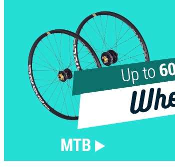 Up to 60% off MTB Wheels