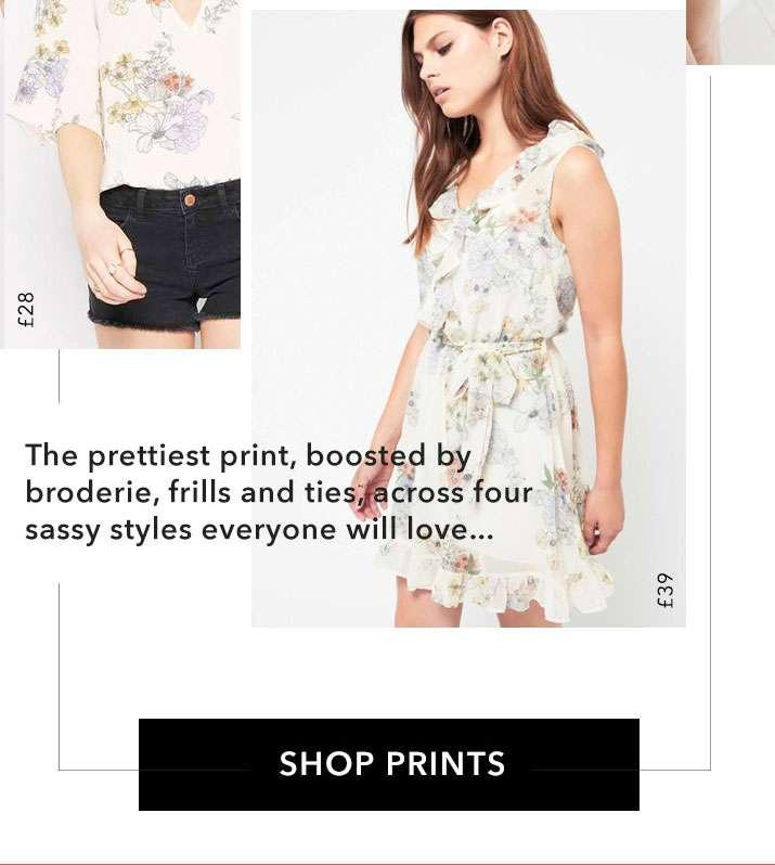 Modern Florals - Shop Prints