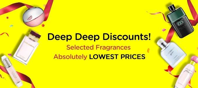 Deep Deep Discounts! Selected Fragrances, Absolutely Lowest Prices