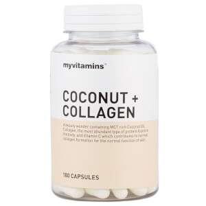 Myvitamins Coconut + Collagen, 60 Capsules