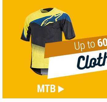 Up to 60% off MTB Clothing