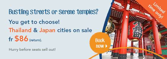 Bustling streets or serene temples?