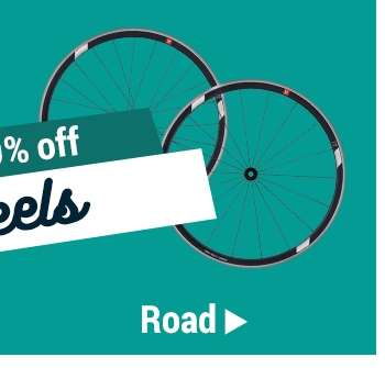 Up to 60% off ROAD Wheels