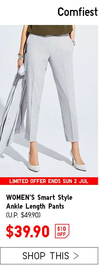 Shop Women's Smart Style Ankle Length Pants at $39.90