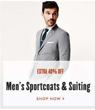 Mens Sportcoats