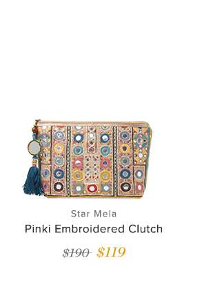 Pinki Embroided Clutch