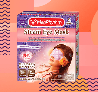 Megrhythm steam eye masks
