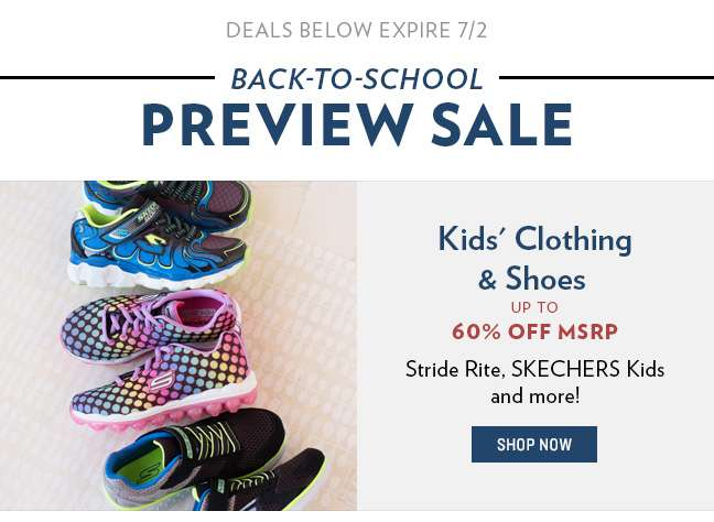Kids' Clothing and Shoes