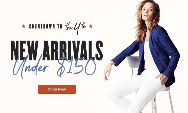 Women New Arrivals Under $150