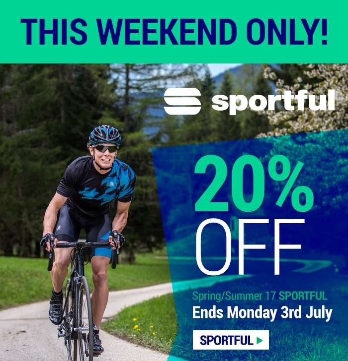 20% OFF Spring/Summer 17 Sportful