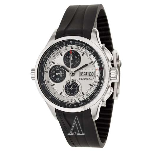 Men's Hamilton Khaki Aviation X-Patrol Auto Chrono Watch