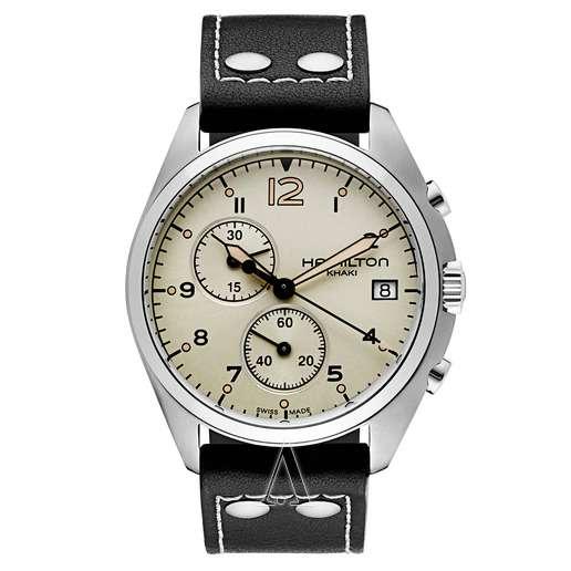 Men's  Hamilton Khaki Aviation Pilot Pioneer Chrono Watch