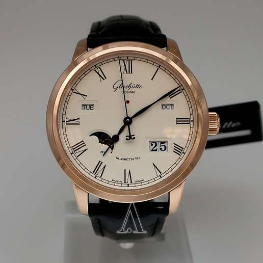Men's  Glashutte Senator Perpetual Calendar Watch