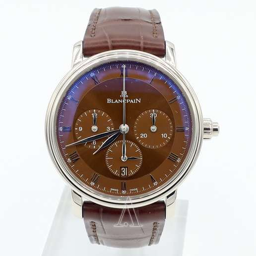 Men's  Blancpain Villeret Single Pusher Chronograph Watch