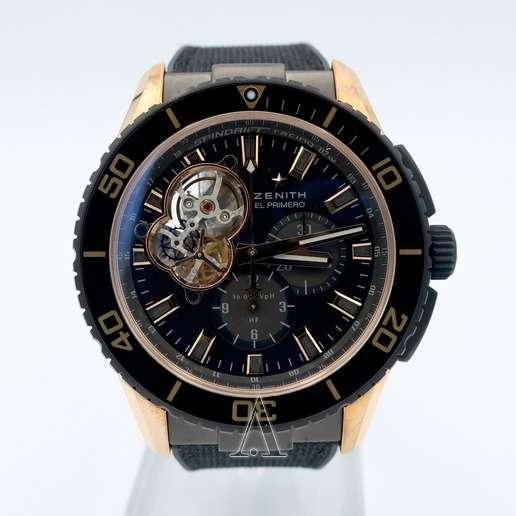 Men's  Zenith El Primero Stratos Spindrift Watch