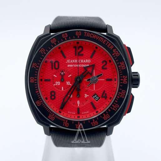 Men's  JeanRichard Aeroscope Arsenal Watch