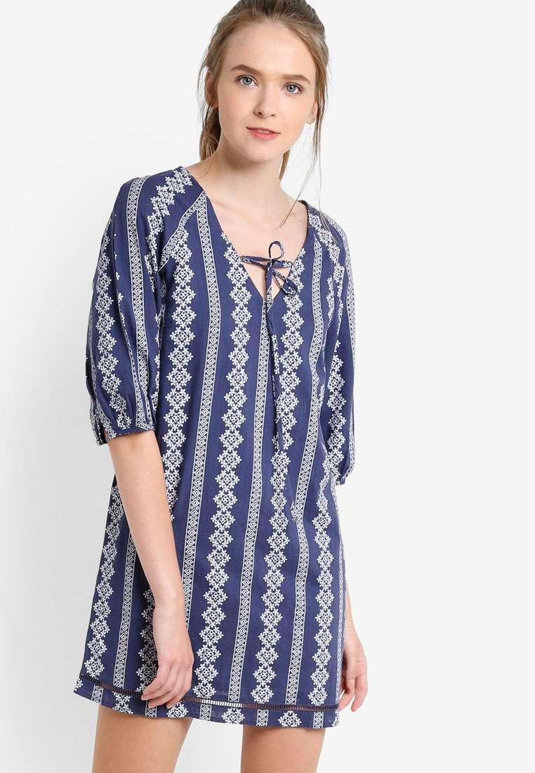 Raglan Peasant Dress