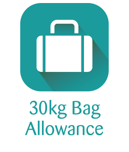 30kg Bag Allowance