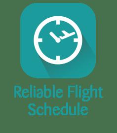 Reliable Flight Schedule