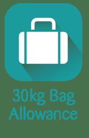 30kg Bag Allowance