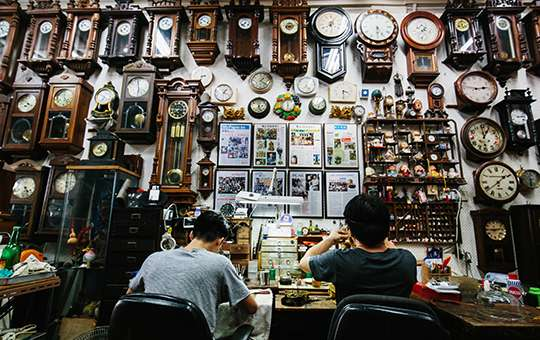 TRADITIONAL TRADES IN SINGAPORE