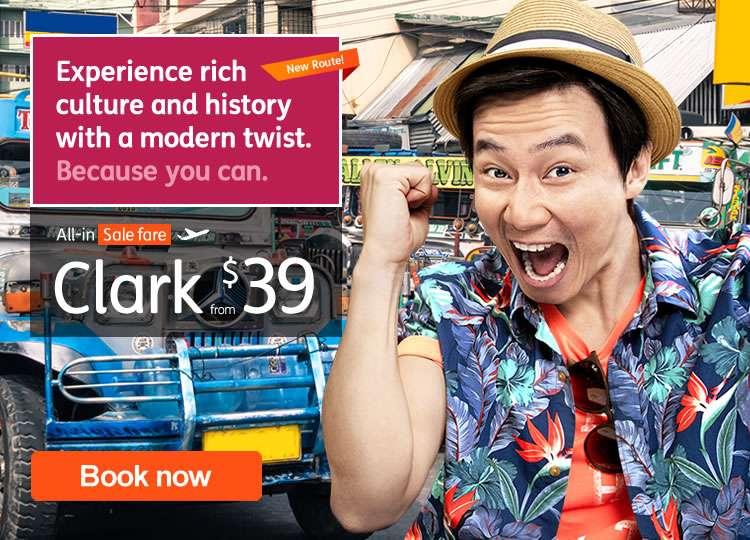 Clark Route Launch Sale