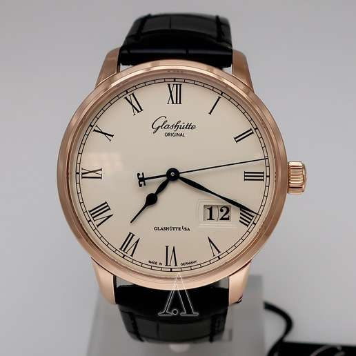Men's  Glashutte Senator Panorama Date Watch