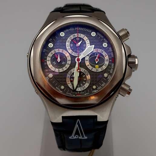 Men's  Girard-Perregaux Laureato EVO3 Perpetual Calendar Watch