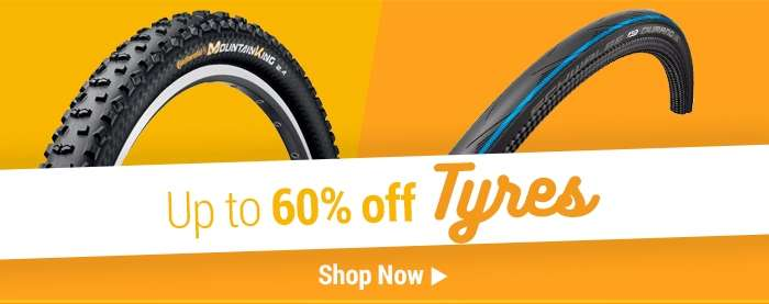 Up to 60% off Tyres