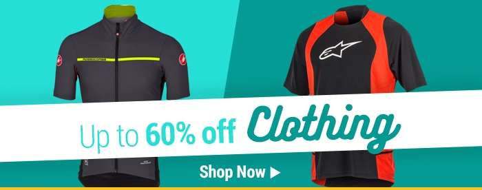 Up to 60% off Clothing