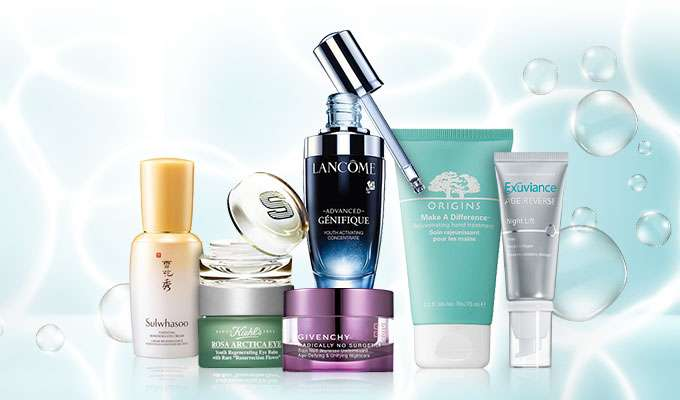Skin-Rejuvenating Specials Up to 70% Off! Estee Lauder, Sisley, Sulwhasoo, Lancome & more! Ends 30 Aug 2017