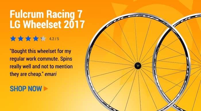 Fulcrum Racing 7 LG Wheelset 2017