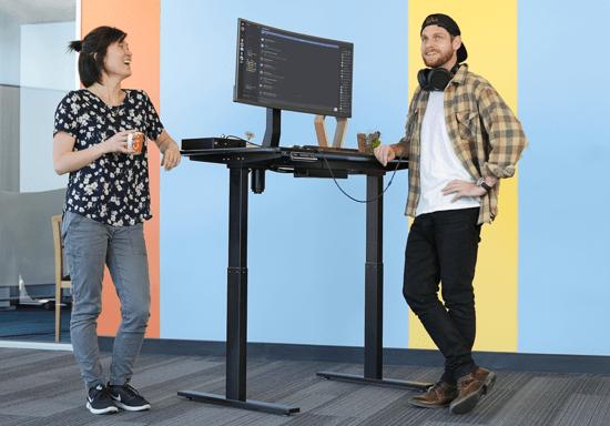 Massdrop Lift Sit-To-Stand Desk