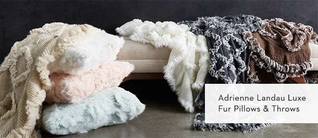 Fur Pillows and Throws
